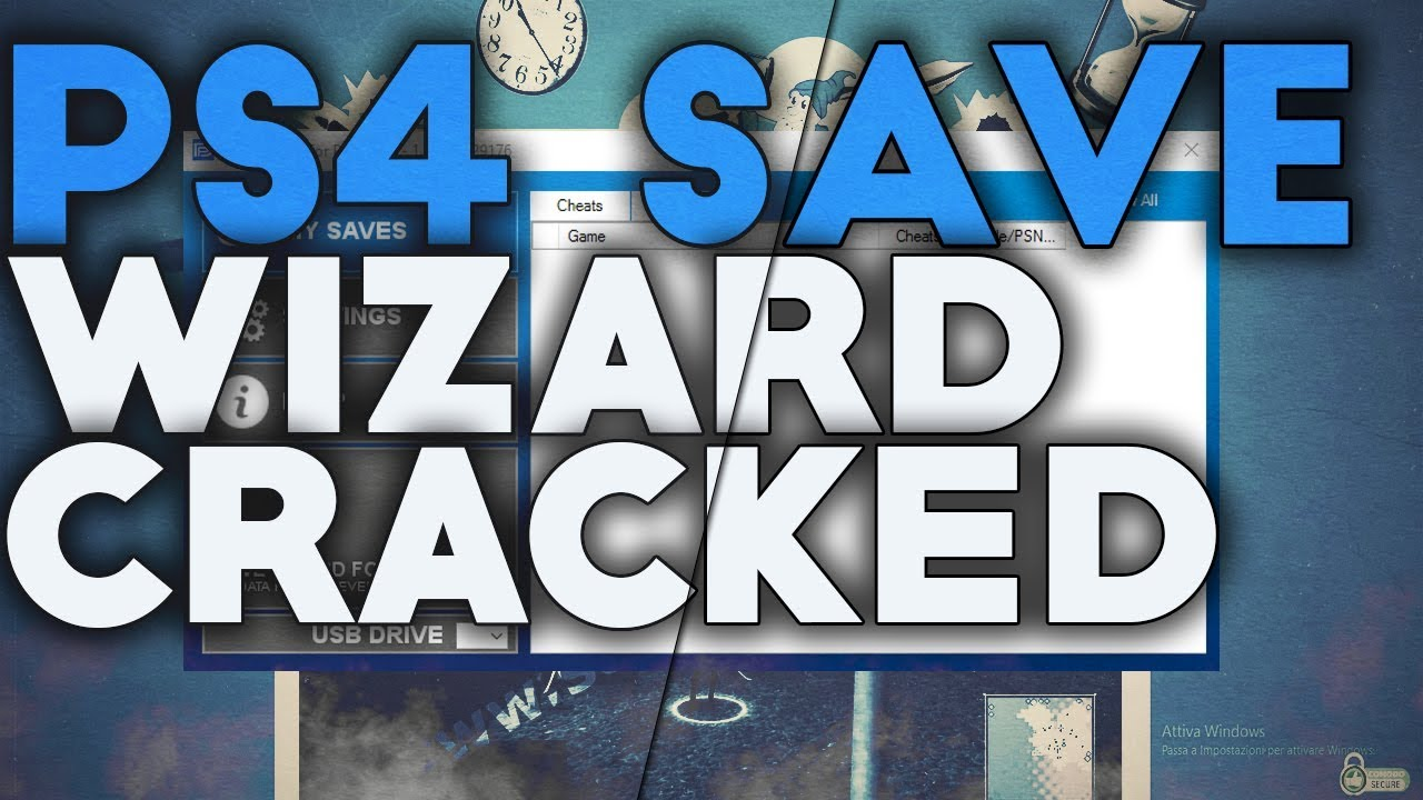 Save Wizard PS4 2020 Crack + Keygen & License Key