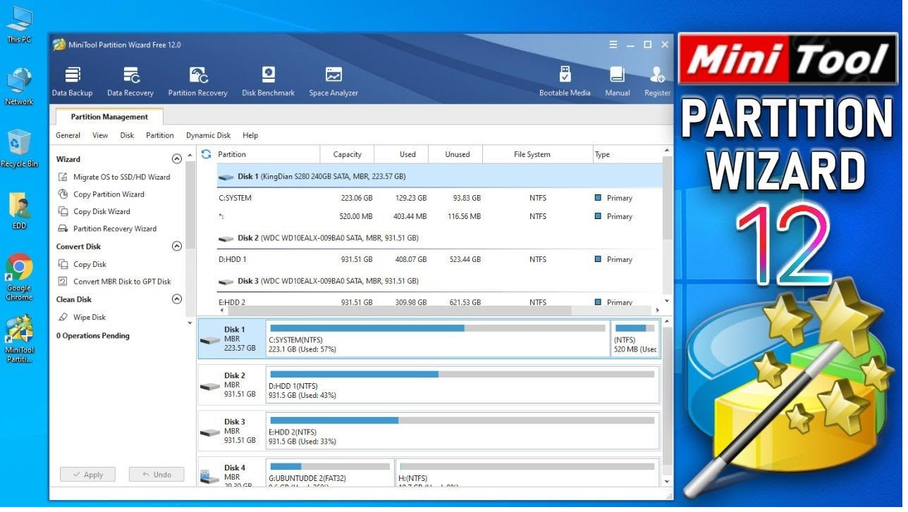 MiniTool Partition Wizard 12.3 Crack with Serial Key Free Download 2021